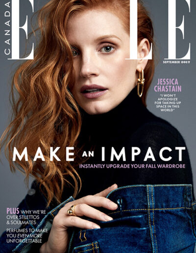 Elle Canada Cover