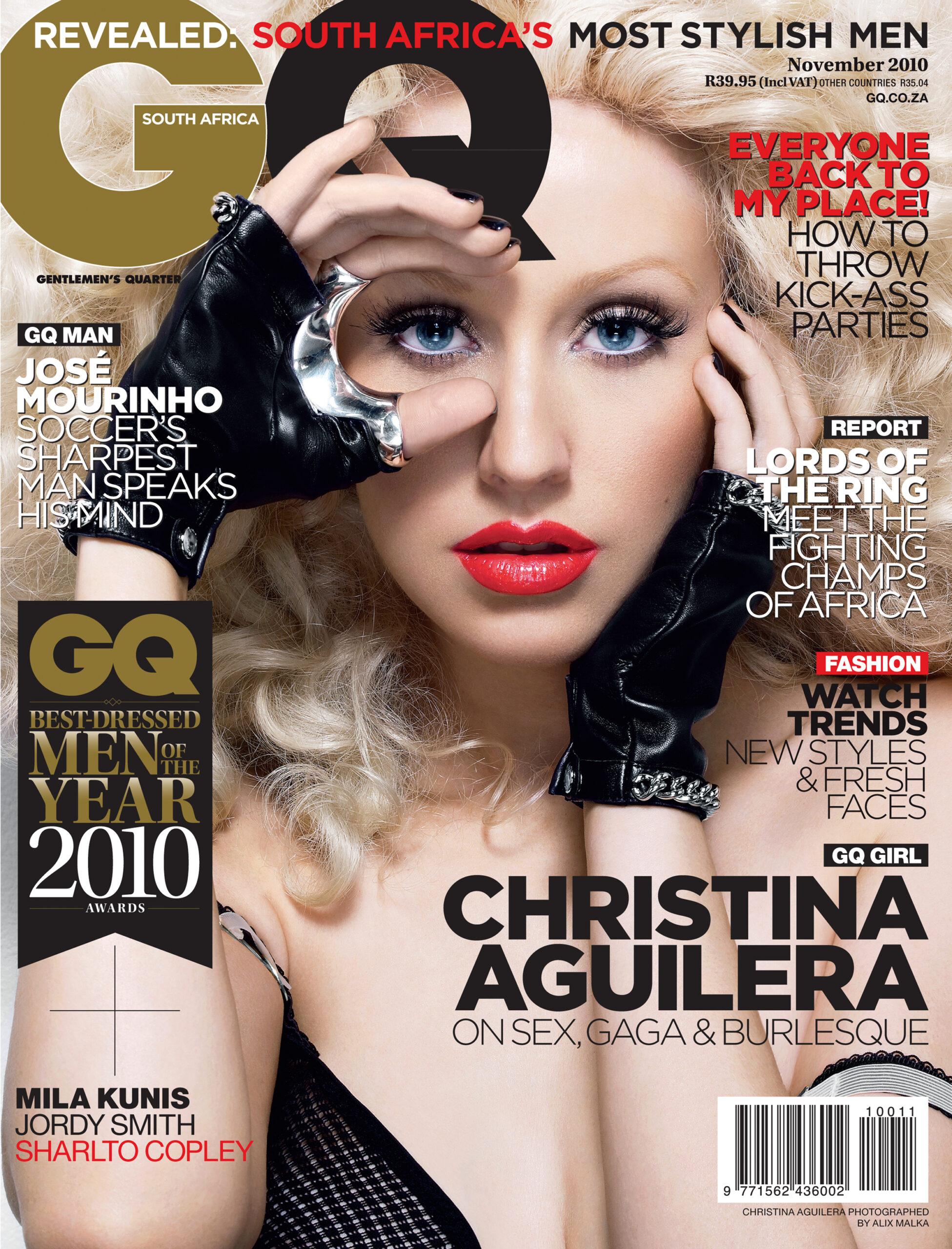 GQ Russia / Christina Aguilera