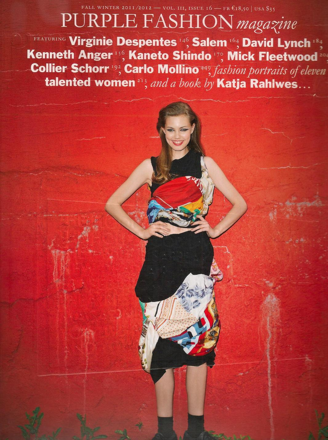 Purple Magazine / Mollino by Jeff Burton