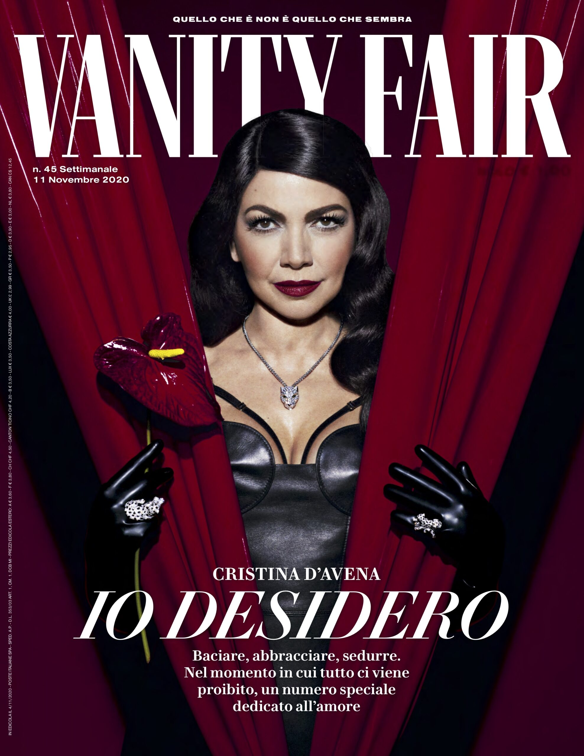 Vanity Fair Italy / «Non c'è Sesso Senza Amore» an Intervew by Irene Cao
